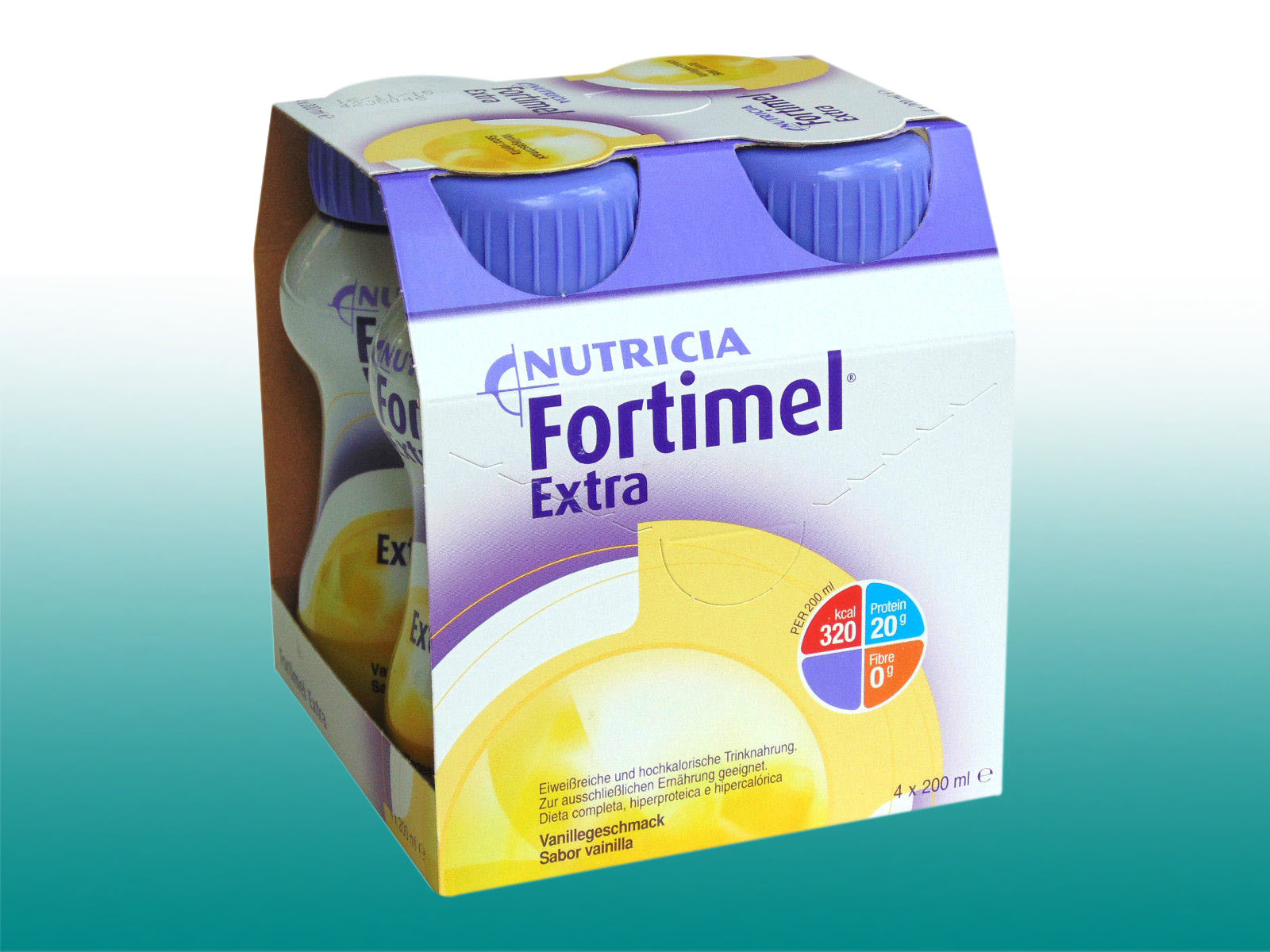 10,42 €/L)Fortimel Extra Trinknahrung 8x4x200 ml Nutricia Pfrimmer ...